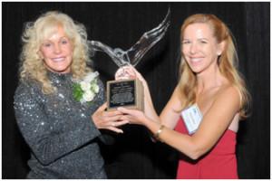 Julie Clark Crystal Eagle Award